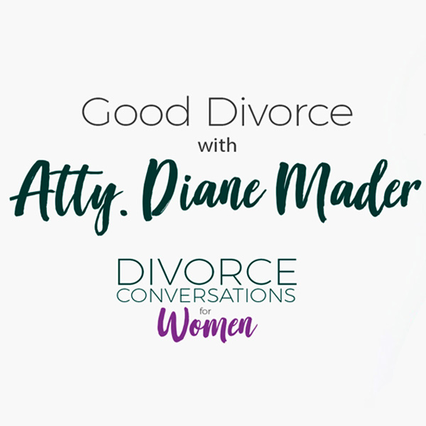Divorce conversations with women and photo of interviewer